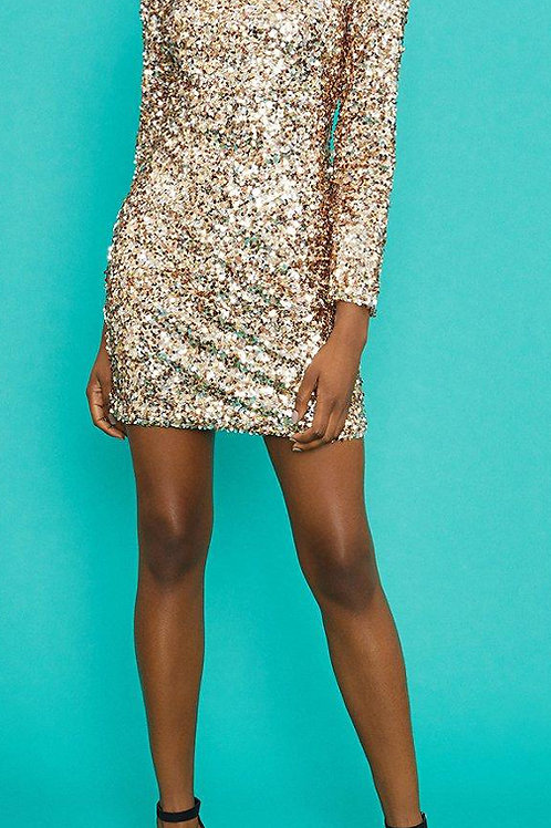 COAST Sequin Open Back Dress (RARE & COLLECTABLE)