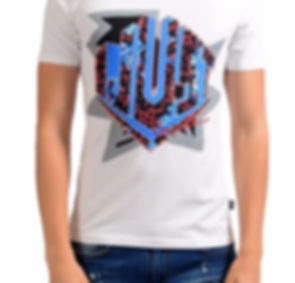 JUST CAVALLI White Graphic T-Shirt 1.jpg