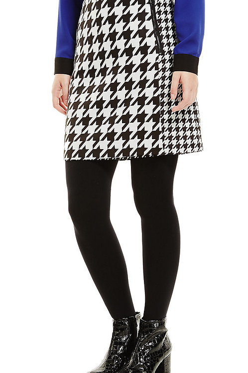 M&S COLLECTION Dogtooth Print A-Line Mini Skirt T57/7714