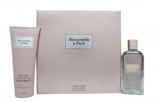 ABERCROMBIE & FITCH First Instinct EDP & Body Lotion Gift Set