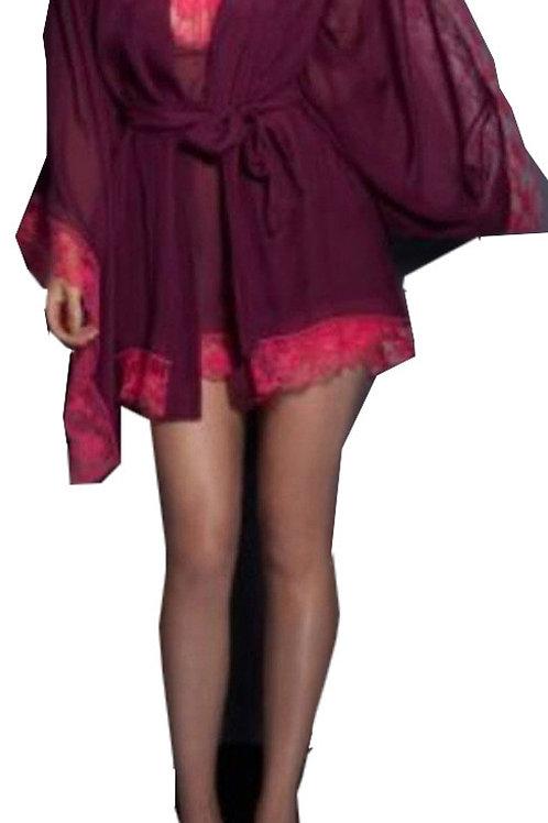 AGENT PROVOCATEUR Alessia Silk Kimono (RARE & COLLECTABLE)