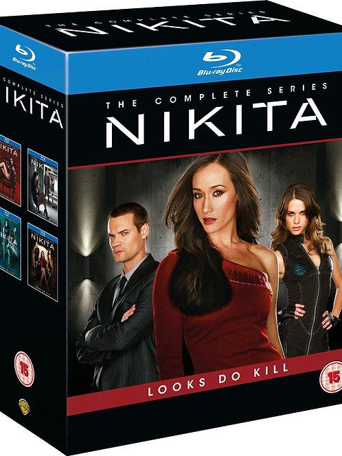 Nikita The Complete Series [Blu-ray] Season 1, 2, 3, 4 [2014] [Region Free]