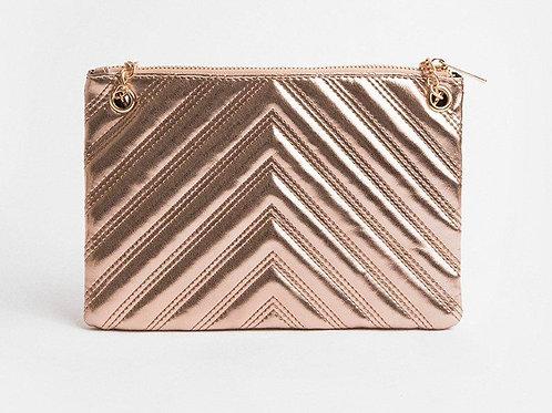 COAST Metallic Chain Detail Bag