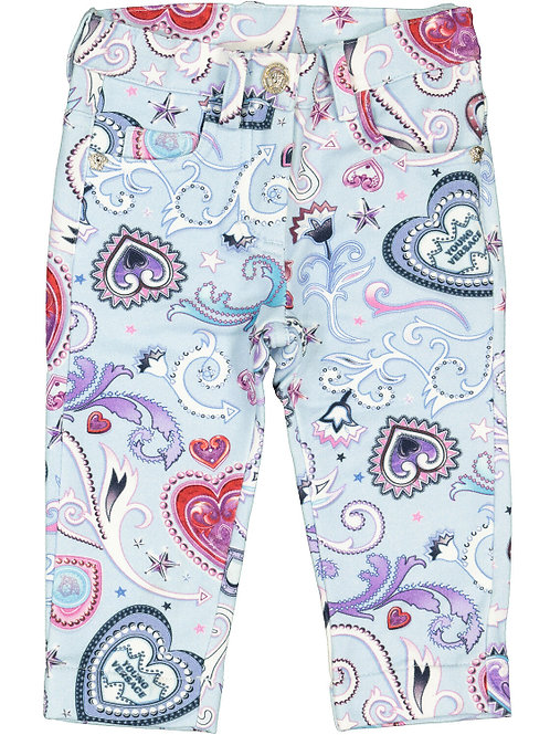 YOUNG VERSACE Patterned Trouser (RARE & COLLECTABLE)