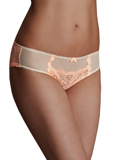 M&S COLLECTION Lace Low Rise Brazilian Knickers T617867