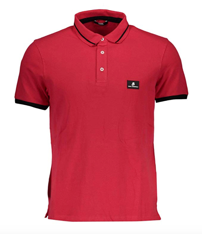 KARl LAGERFELD Polo Shirt Red KL18P01 1.