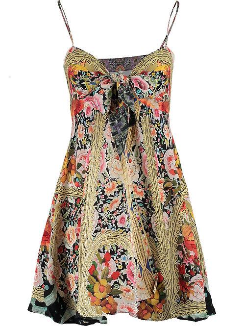 CAMILLA Señorita Floral Silk Embellished Beach Dress (RARE & COLLECTABLE)