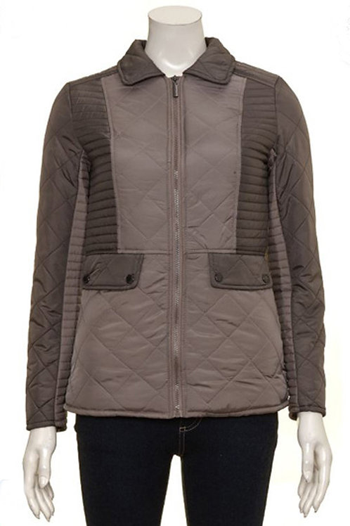FERAUD Ladies Quilted Colour Block Jacket (RARE & COLLECTABLE)