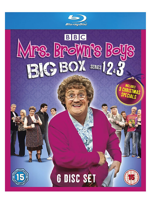 Mrs Brown's Boys - Big Box Series 1-3 [Blu-ray] [2012]