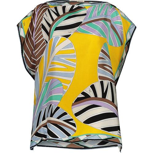 EMILIO PUCCI Silk Abstract Top (RARE & COLLECTABLE)