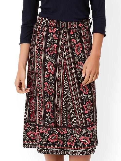 MONSOON Tamara Chevron Print Skirt (RARE & COLLECTABLE)
