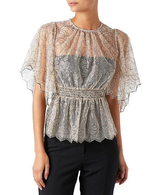 MONSOON Sharma Lace Top (RARE & COLLECTABLE)