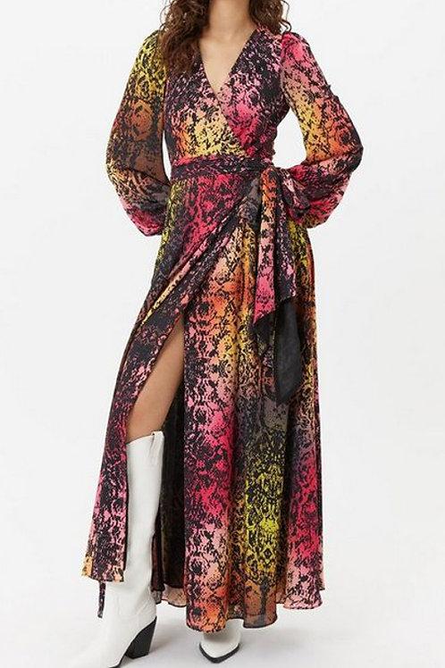 COAST Rainbow Snakeskin Dress (RARE & COLLECTABLE)