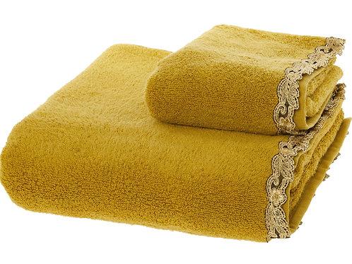 LA PERLA Two Piece Lace Panel Towel Set(RARE & COLLECTABLE)