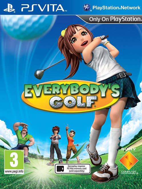 Everybody's Golf - Russian Import