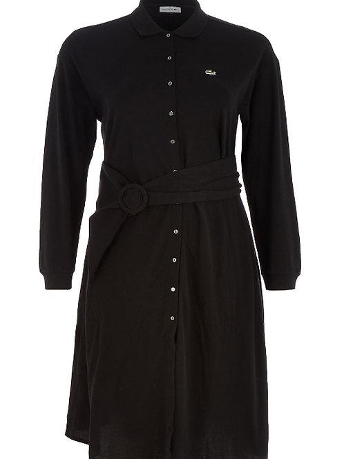 LACOSTE Long Sleeve Polo Dress(RARE & COLLECTABLE)