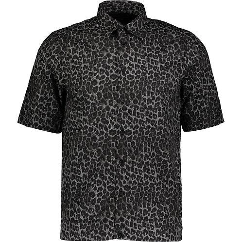 DIESEL Animal Print Raggae Collar Shirt (RARE & COLLECTABLE)