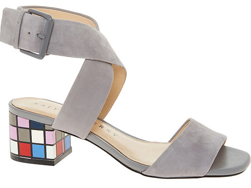 KATY PERRY Suede Cross Strap Sandals(RARE & COLLECTABLE)