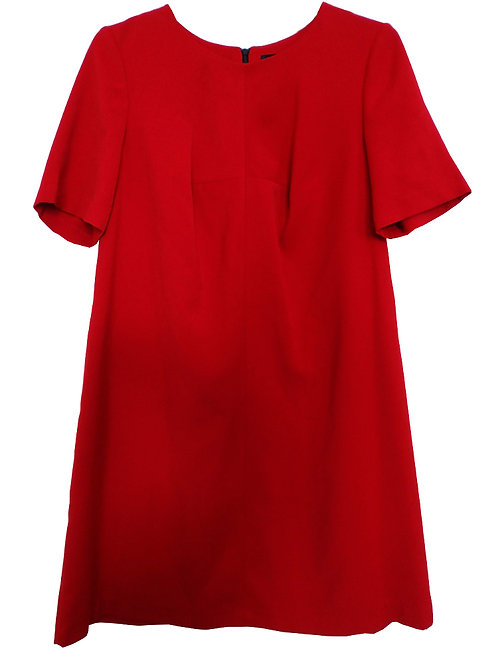 M&S COLLECTION Ladies Red Shift Dress T59/0931A