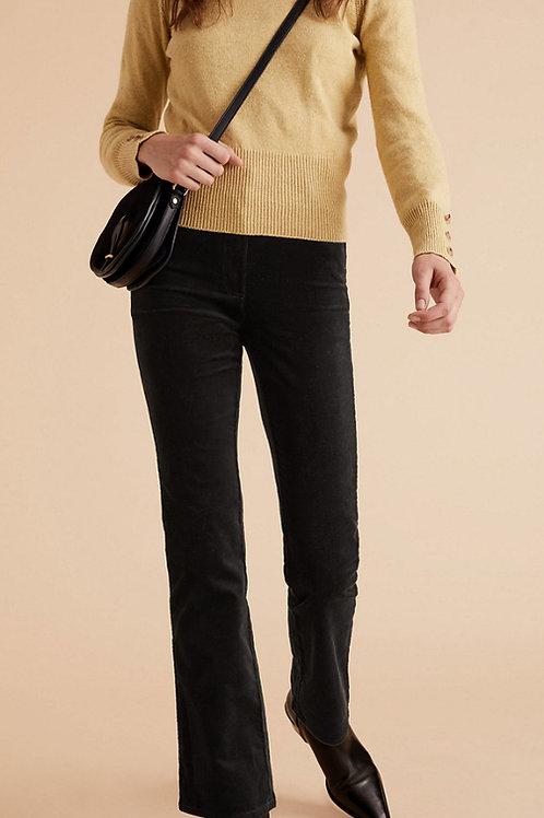 M&S by PER UNA Corduroy Slim Fit Flare Trousers T53/8210U