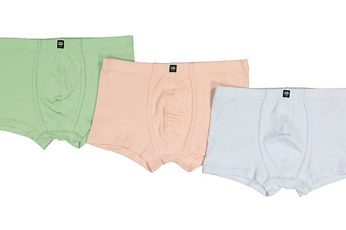 LES GIRLS LES BOYS Three Pack Assorted Jersey Trunks(RARE & COLLECTABLE)