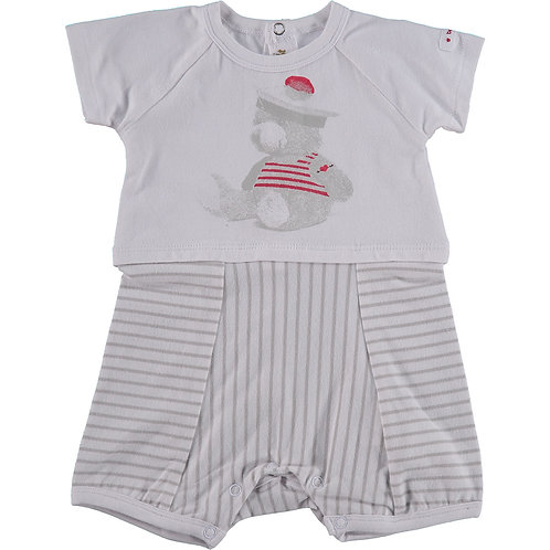 BERLINGOT Baby Bear Print Short Bodysuit (RARE & COLLECTABLE)