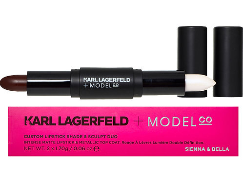 KARL LAGERFELD Custom Lipstick Shade & Sculpt Duo (RARE & COLLECTABLE)