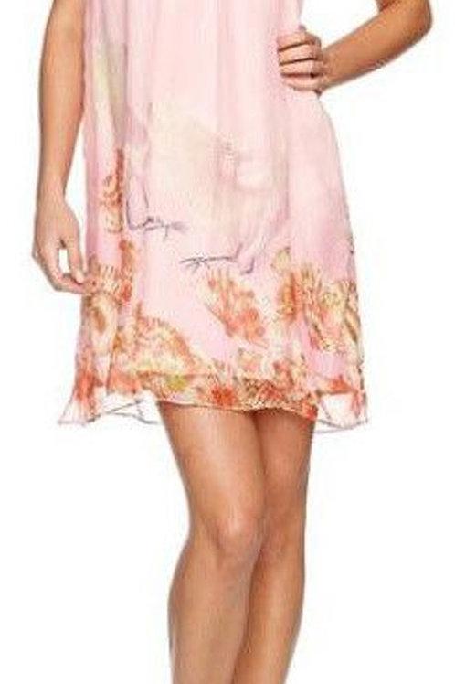 TRAFFIC PEOPLE Confetti Silk Dress Snb6586 (RARE & COLLECTABLE)