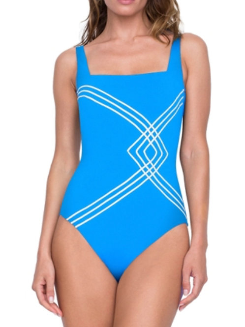 GOTTEX ESSENTIALS Sinatra Square Neck Swimsuit 19SI172 (RARE & COLLECTABLE)