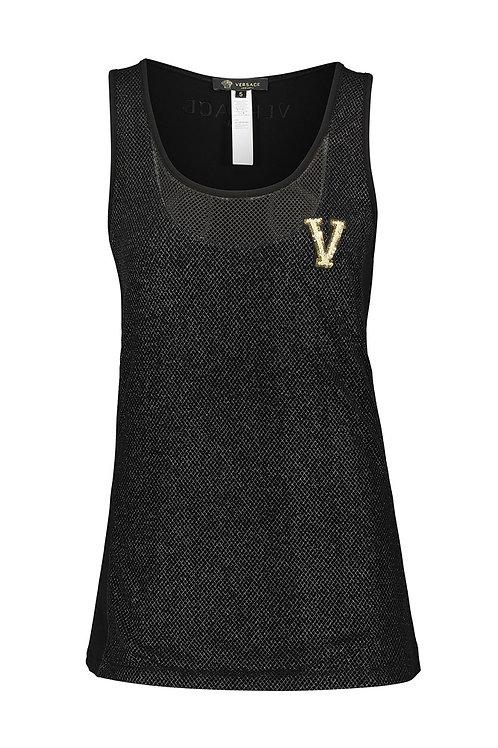 VERSACE Underwear Branded Mesh Vest Top (RARE & COLLECTABLE)