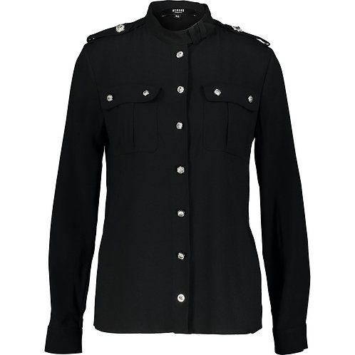 VERSACE VERSUS Crepe Military Shirt (RARE & COLLECTABLE)
