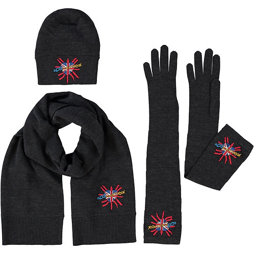 DOLCE & GABBANA Three Pack Hat, Scarf & Gloves Set (RARE & COLLECTABLE)