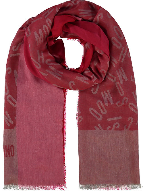LOVE MOSCHINO Branded Scarf(RARE & COLLECTABLE)