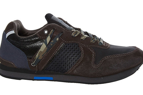 REPLAY Camo Laced Trainers