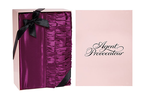 AGENT PROVOCATEUR Silk Berry Ruffles Oxford Pillowcase (RARE & COLLECTABLE)