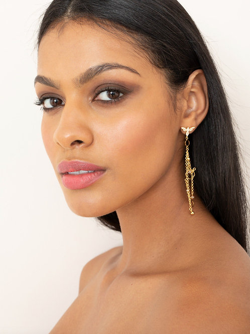 AGENT PROVOCATEUR Azzalia Earring(RARE & COLLECTABLE)