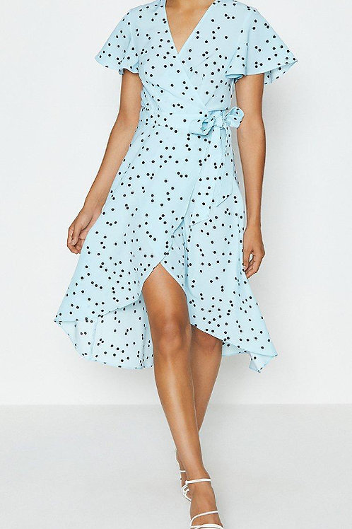 COAST Spotty Tie Front Detail Wrap Dress (RARE & COLLECTABLE)