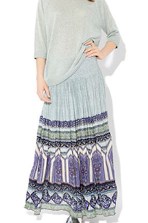 MONSOON Erin Crinkle Maxi Skirt (RARE & COLLECTABLE)