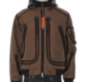 Wellensteyn Mens Brown Paneled Jacket  A