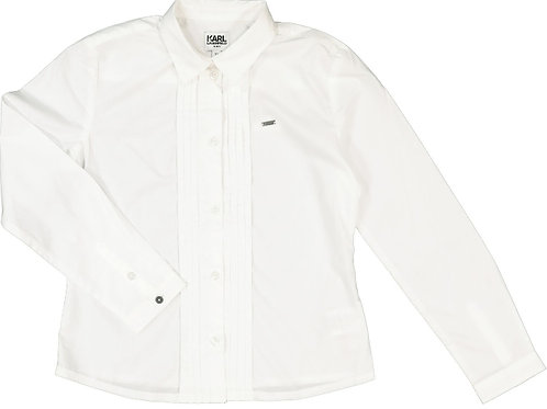 KARL LAGERFELD Pleated Shirt (RARE & COLLECTABLE)