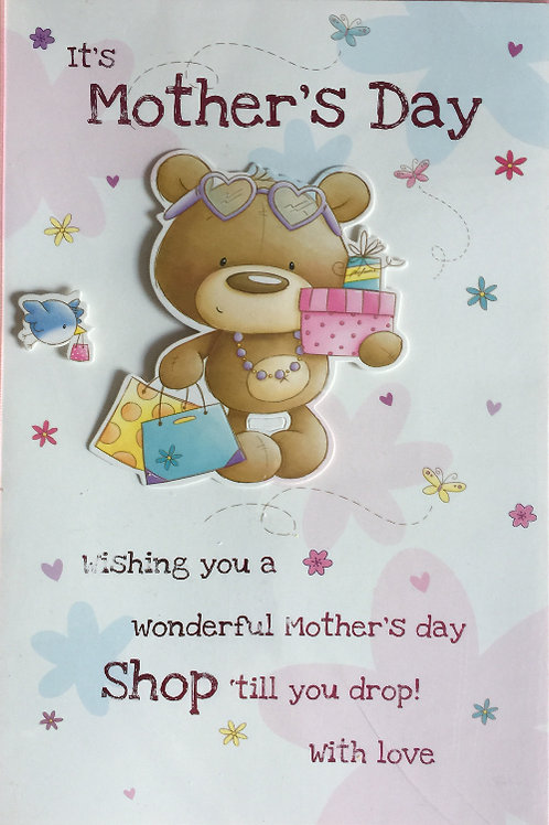Mothers' Day Card Code MBRA