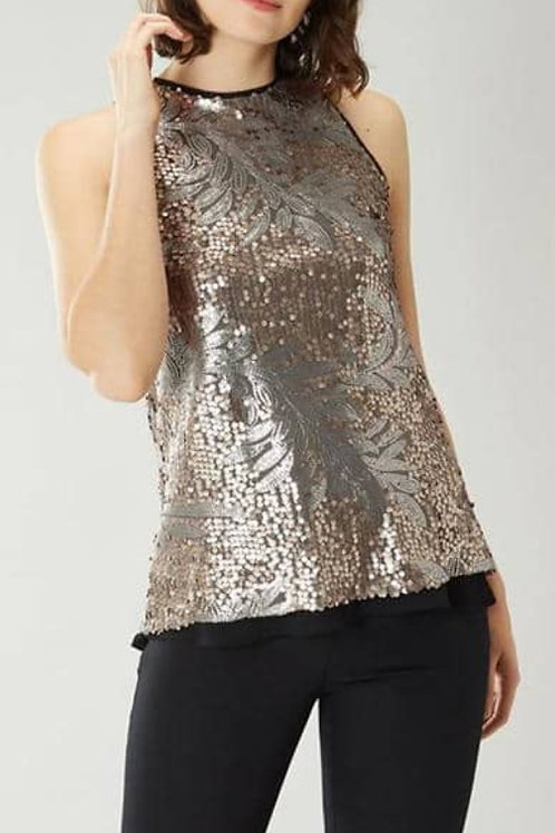 COAST Jana Sequin Top (RARE & COLLECTABLE)
