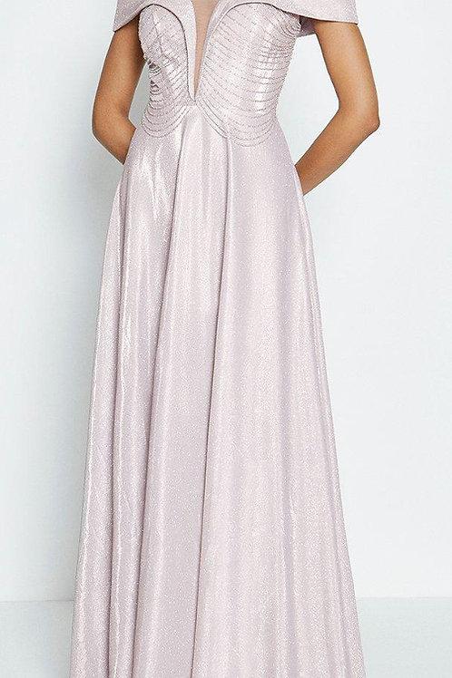 COAST Bardot Beaded Bodice Maxi Dress(RARE & COLLECTABLE)