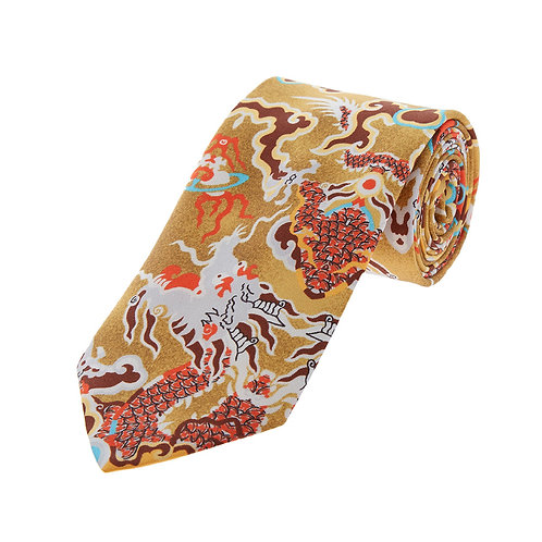 VIVIENNE WESTWOOD Accessories Colourful Patterned Silk Tie