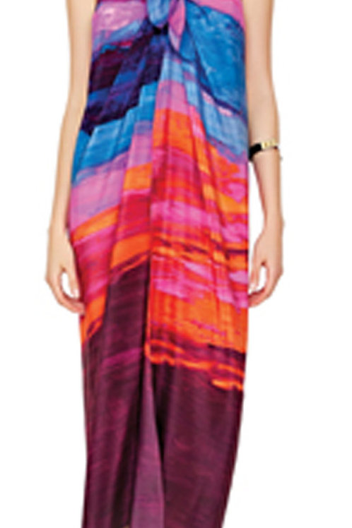 GOTTEX CONTOUR Horizon Silk Pareo Sarong 17HO-500 (RARE & COLLECTABLE)