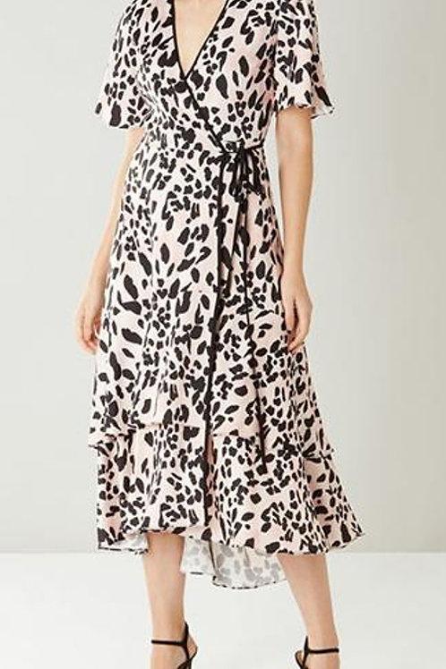 COAST Mila Animal Print Wrap Dress (RARE & COLLECTABLE)