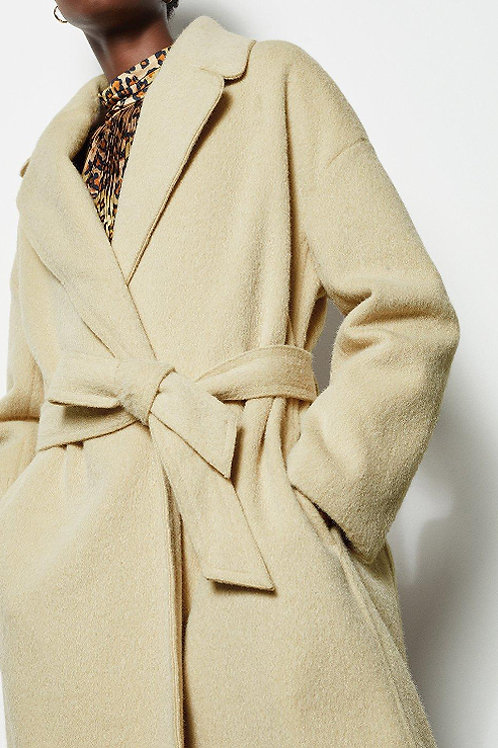 KAREN MILLEN Belted Shawl Wrap Coat (RARE & COLLECTABLE)