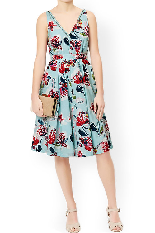 MONSOON Marie Print Dress (RARE & COLLECTABLE)