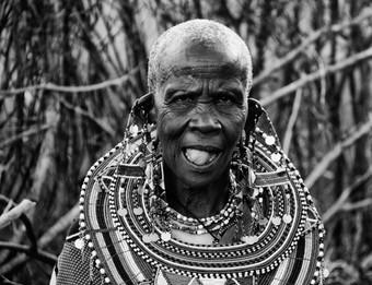 Mema, Masai Elder woman, Submara Territo