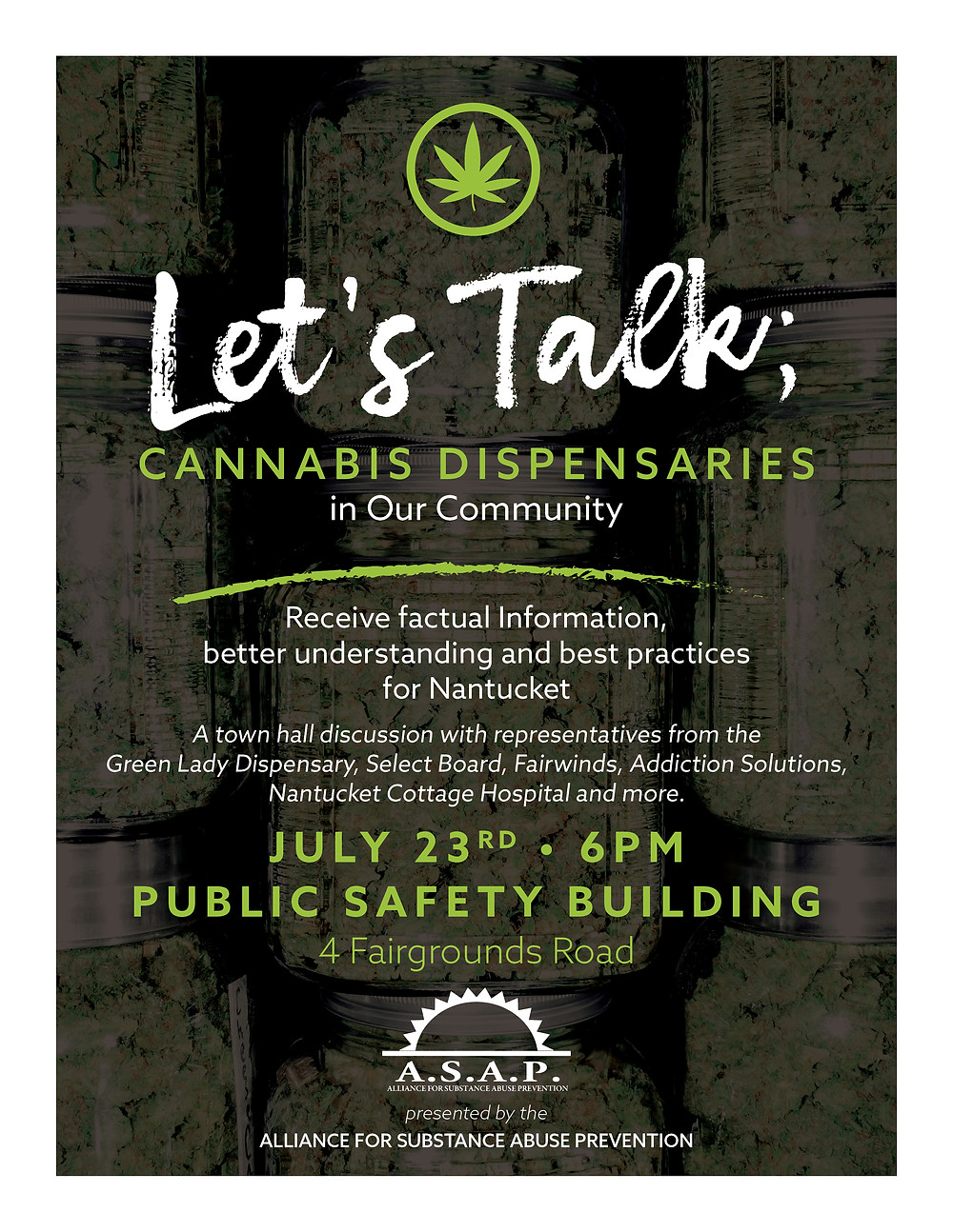 Let's Talk poster
